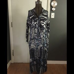 NWT Anthropologie Burning Torch tunic dress small